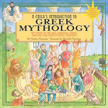 Greek Mythology by author Heather Alexander