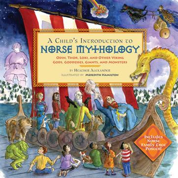 Norse Mythology by author Heather Alexander