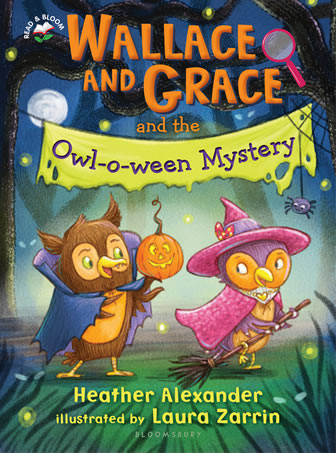Wallace and Grace and The Owl-O-Ween Mystery by author Heather Alexander
