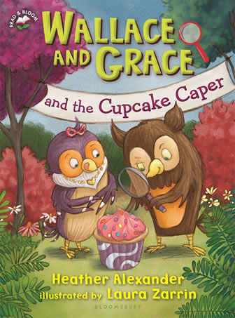 Wallace and Grace and The Cupcake Caper by author Heather Alexander