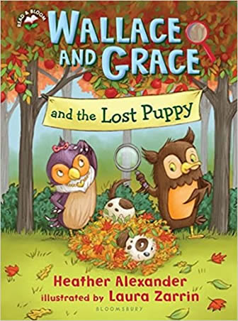 Wallace and Grace and The Lost Puppy by author Heather Alexander