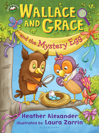 Wallace and Grace and The Mystery Egg by author Heather Alexander