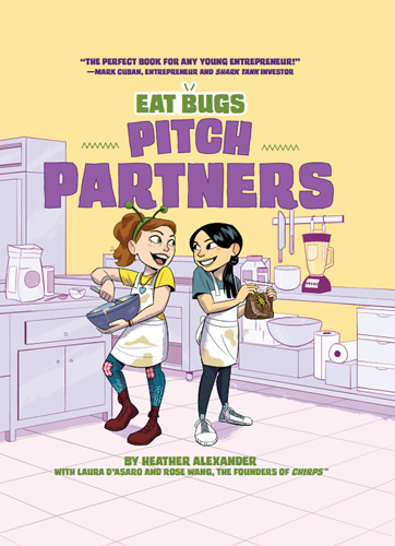 Eat Bugs #2 Pitch Partners by author Heather Alexander